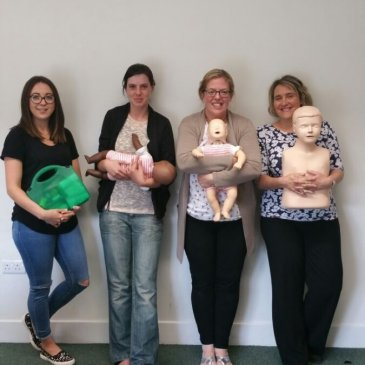 Paediatric First Aid Level 3 course in Bingley – 29/09/2015