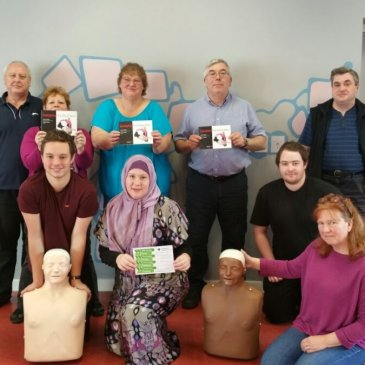Emergency First Aid at Work course in Shipley – 09/10/2015