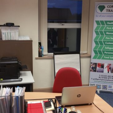 Our new office in Keighley!