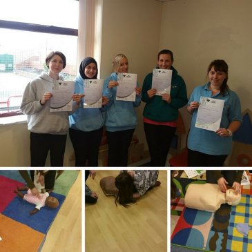 Paediatric First Aid course at Keighley Community Nursery