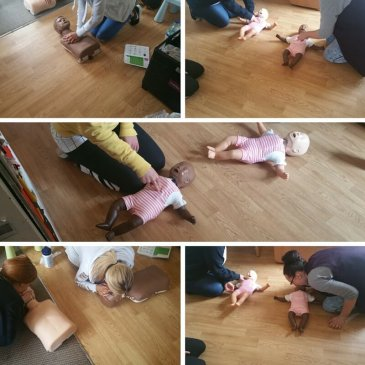 Paediatric First Aid Course started at Fair Play Day Nursery
