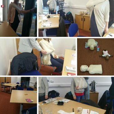 Paediatric First Aid course in Bradford – 15/01/2016