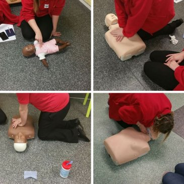 Paediatric First Aid course at the The Counting House Nursery
