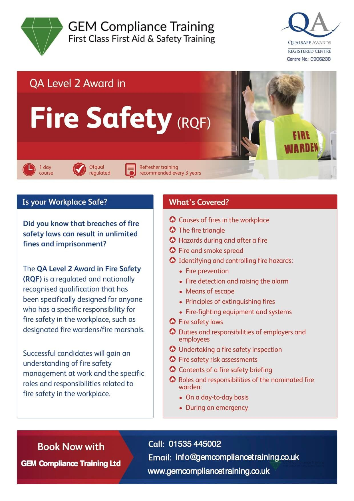 Fire Safety L2