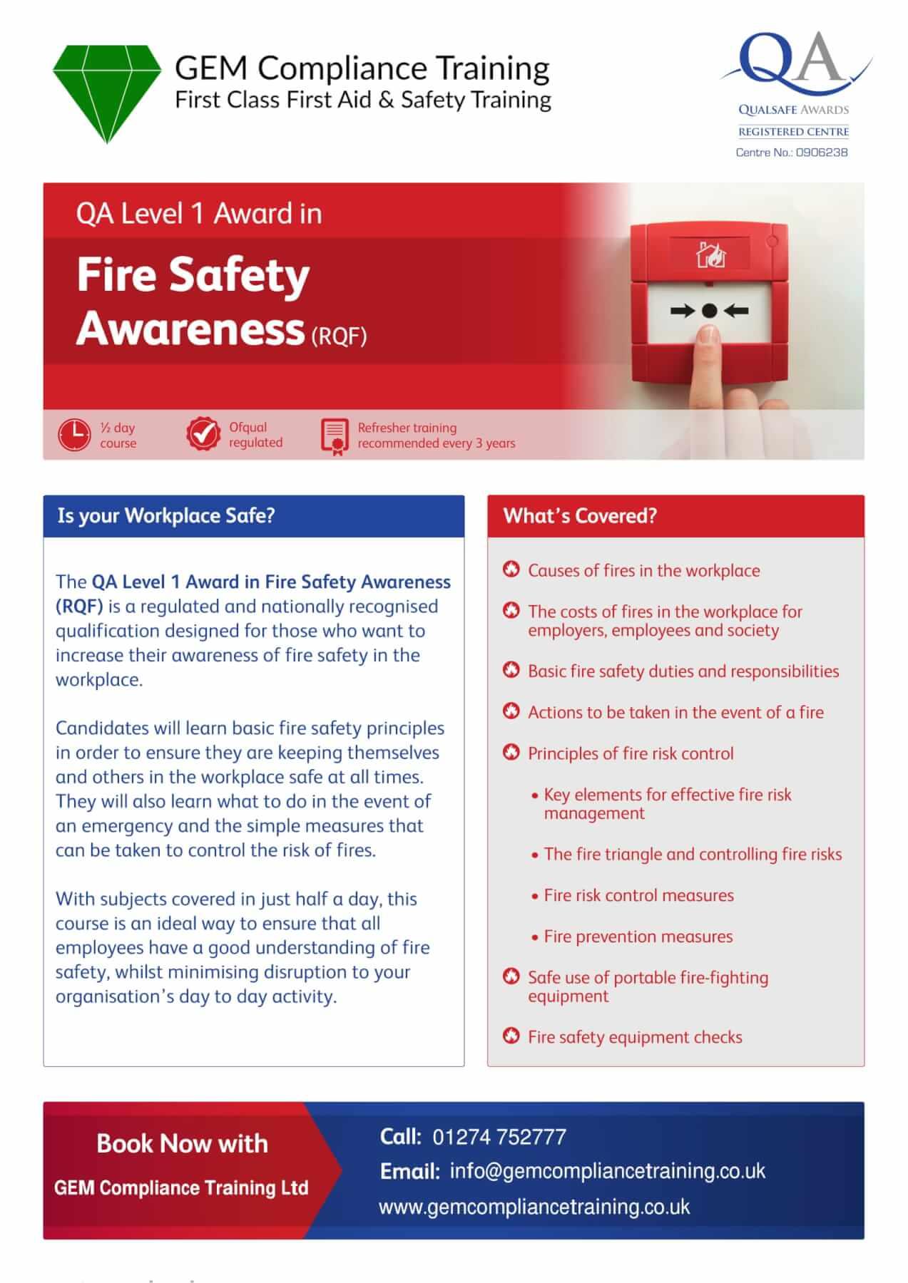 Fire Safety L2