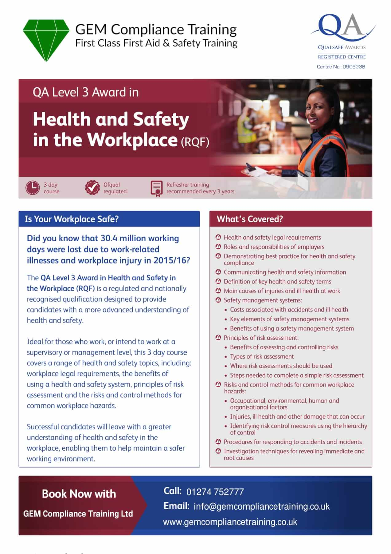 work safety course