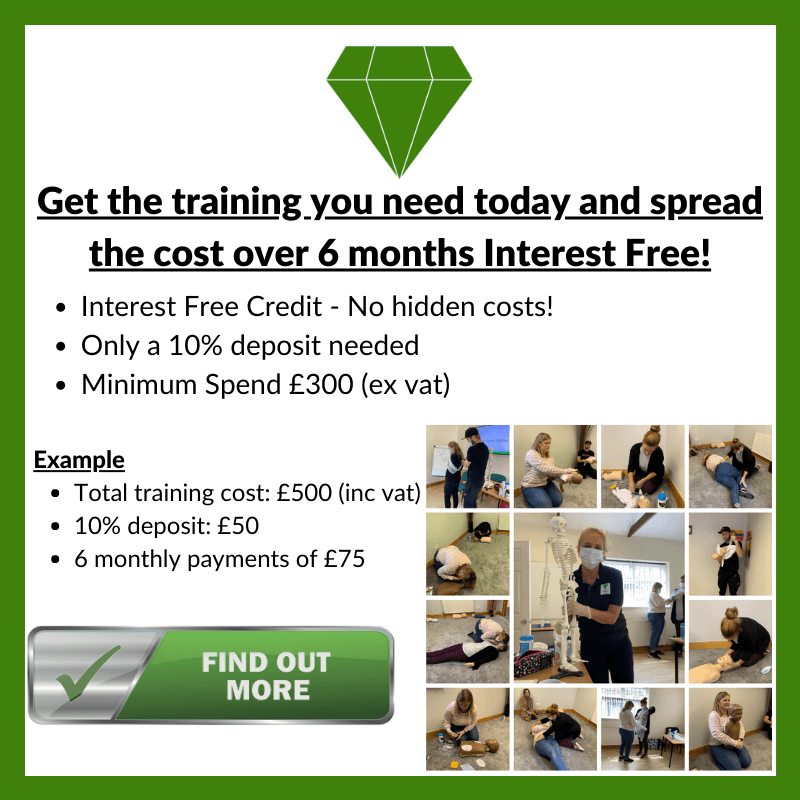 Spread the cost of your training