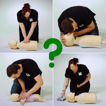 Paediatric First Aid vs First Aid at Work